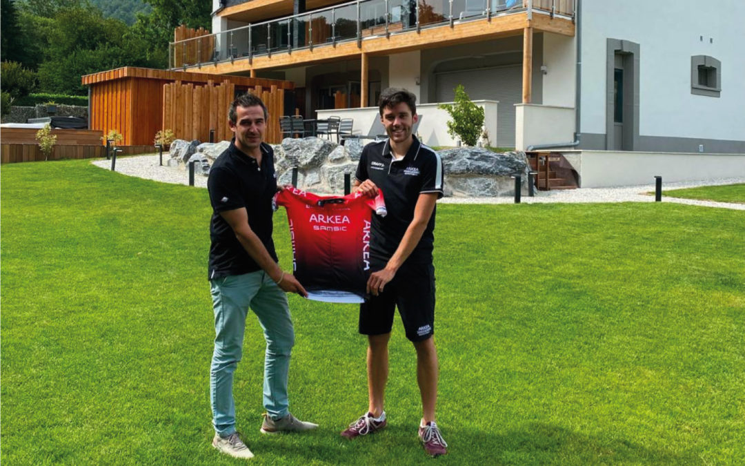 L'Argalyde, partenaire officiel de l'équipe cycliste professionnelle Arkea-Samsic