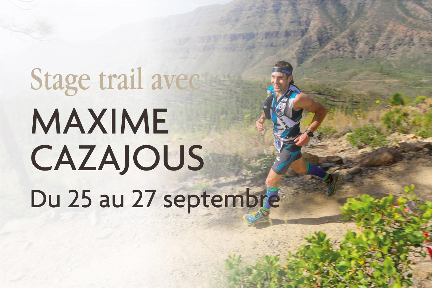 stage trail Cazajous L'Argalyde